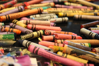 melted crayon hearts | by Heather Christo