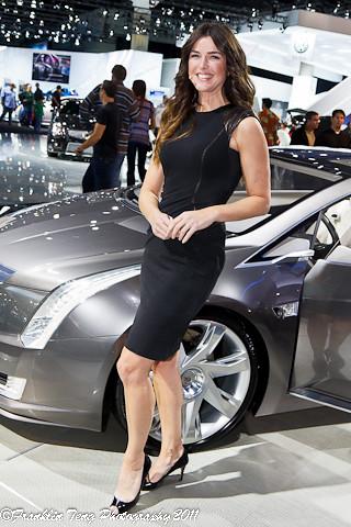 LA Auto Show Lorraine McKiniry TV Personality Model Flickr - What's my car worth show