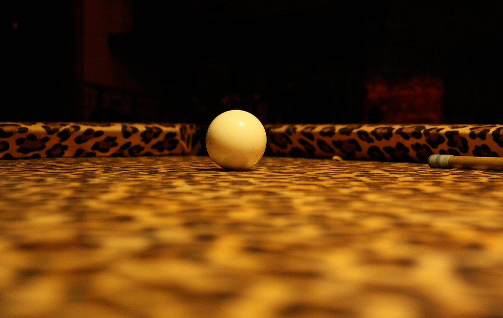 Leopard Skin Pool Table At Bar Chinatown NYC Flickr - Pool table nyc