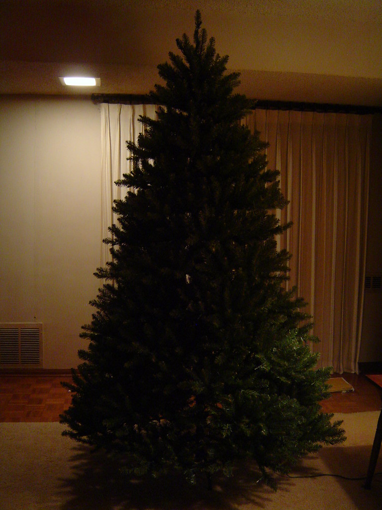 unboxing my pre lit 7 12 foot tall pvc christmas tree 32 - 2 Foot Christmas Tree