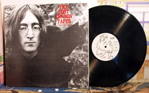 JOHN LENNON ,LOST LENNON TAPES, VOL. 2, | by badgreeb RECORDS - art -photos