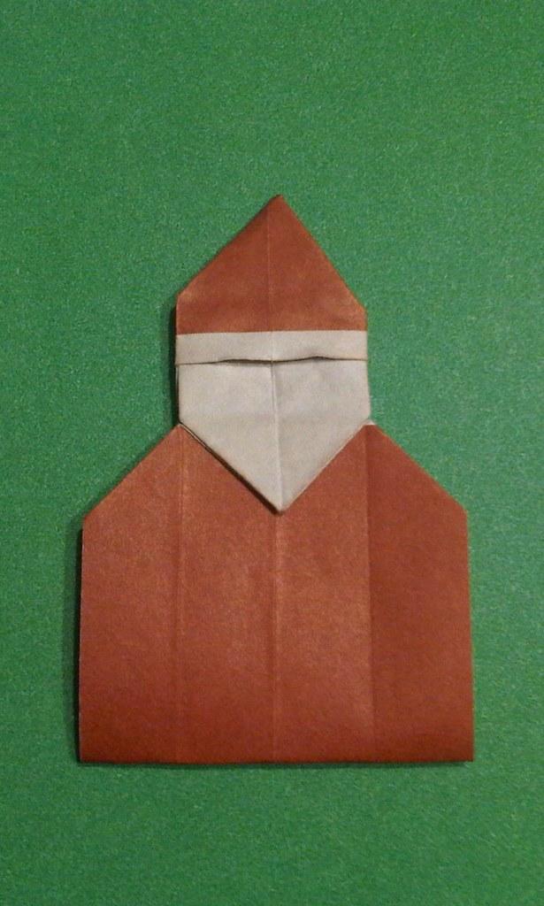 Santa Page Marker David Petty Diagrams Is Origami 1 2 3 Flickr