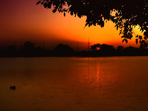 Rawal Lake Sunset 5 - Explored Dec.17, 2011 | by Tabish Nayeemi - Thanx to all 112,000+ Viewers