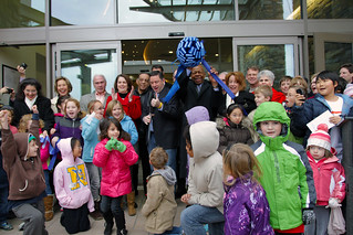 Rep. Cummings opens the Miller Branch library in Howard County | by ElijahECummings