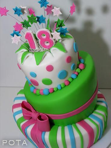 g teau d 39 anniversaire 18 ans topsy turvy cake torta z. Black Bedroom Furniture Sets. Home Design Ideas