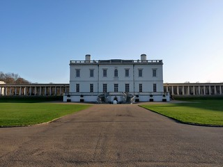 Queen's House at Greenwich Park | by megoizzy