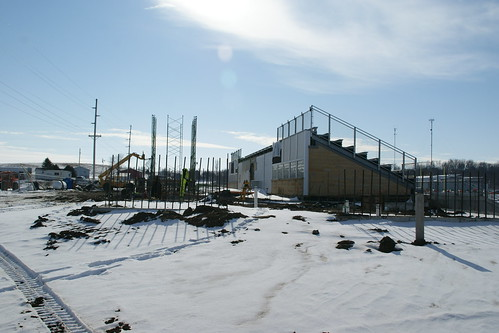 UIU Football Stadium Complex Transformation - Monday, Jan. 16, 2012 | by Upper Iowa University