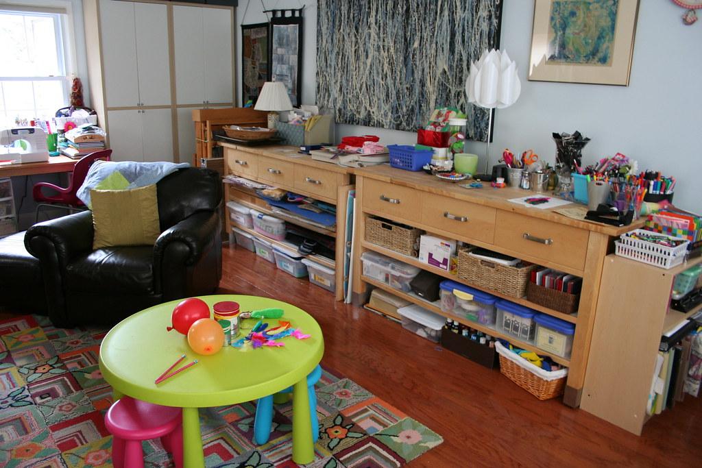 Living Room Art Studio