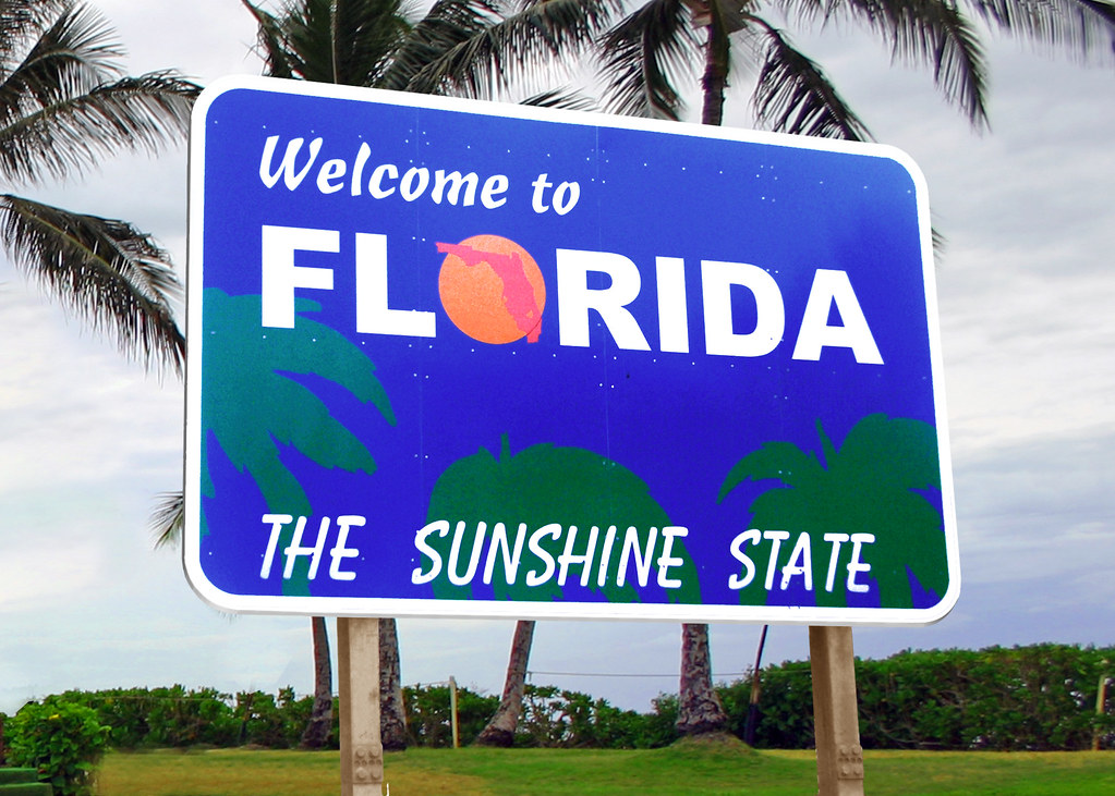 welcome to florida sign the source image for the welcome t flickr