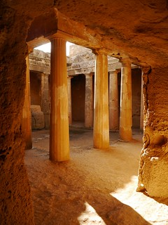 The tomb of the kings, Paphos Cyprus | by Annie381