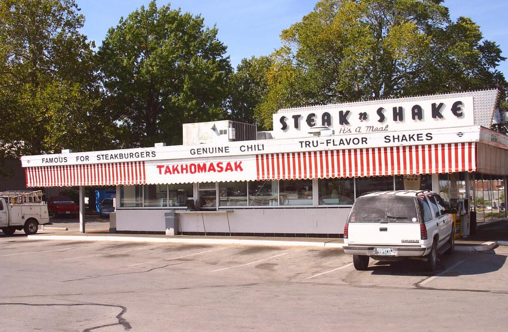 Steak N Shake Springfield Missouri The Steak N Shake Ste Flickr