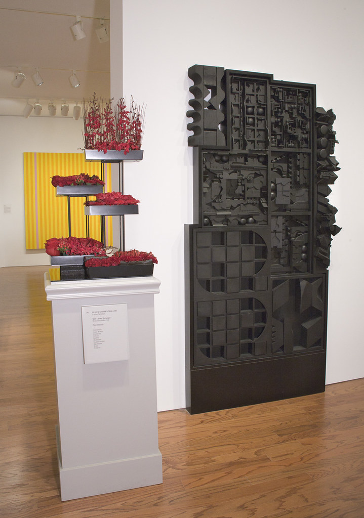 Black Garden Wall III Louise Nevelson Kim Cutler Worces Flickr