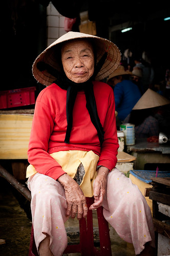 market lady Hoi An | by robbie ewing