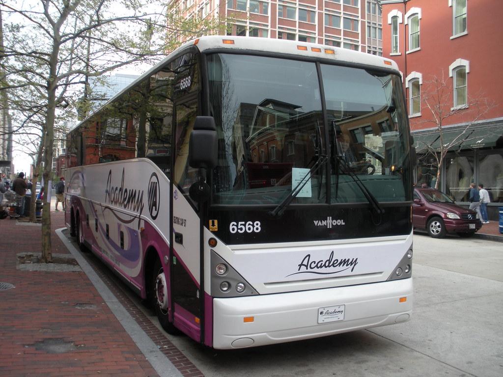 ... Academy Bus Lines - 6568 Van Hool C2045 | by Dan's Motorcoach Gallery