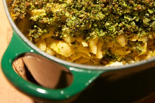 broccoli-basil mac n cheese | by dishesmenlikephotos