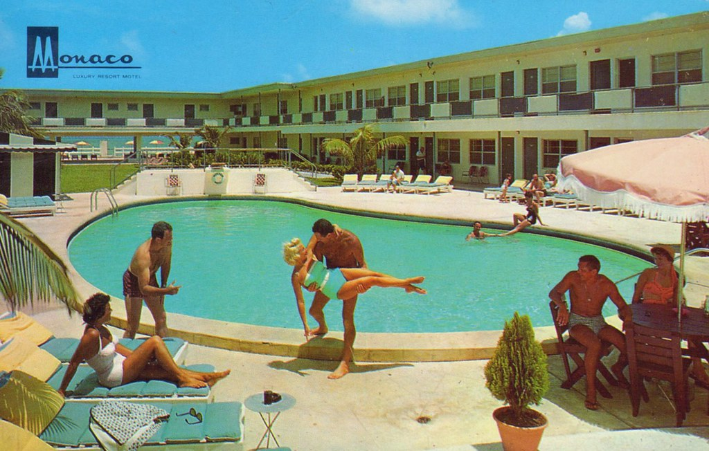 Monaco Luxury Resort Motel - Miami Beach, Florida