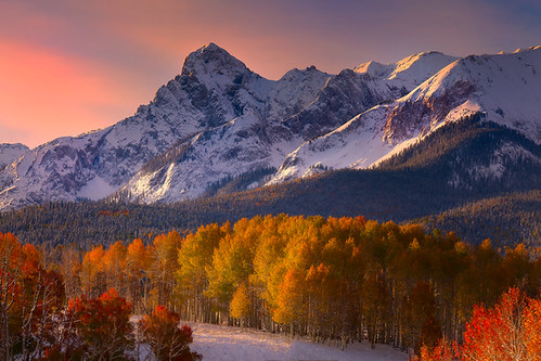 Colorado Fall Colors Mixed With Snow | by kevin mcneal