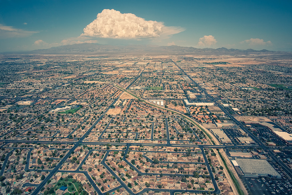 Las Vegas Landscape | by Lopiccolo Las Vegas Landscape | by Lopiccolo - Las Vegas Landscape Aerial View Of A Portion Of Las Vegas.… Flickr