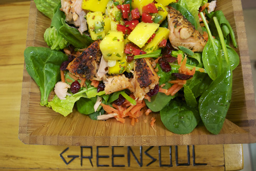 Salad with GreenSoul logo | by visitphilly.com
