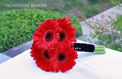 San Jose Florist, Wedding Bouquet of Gerbera Daisies | Flickr