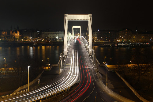 Elisabeth bridge at night 1 | by Romeodesign