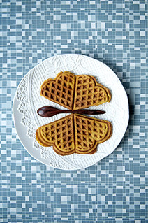 Waffle butterfly | by what should i eat for breakfast today