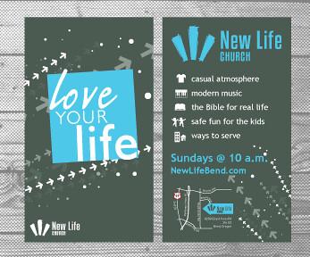Newlife Invite Card 6b Goal Card For Church Members To Ha Flickr