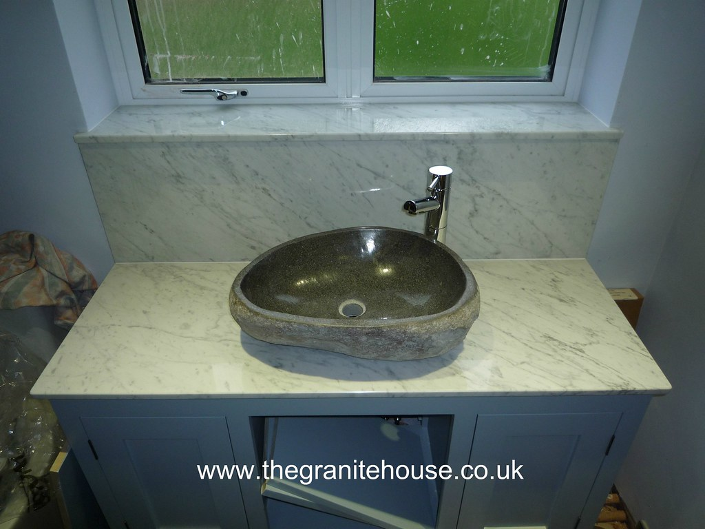 ... Carrara Marble Vanity Top | By The Granite House
