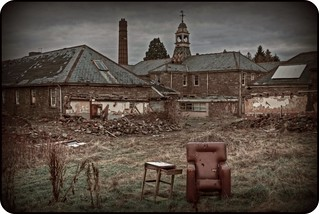 Put your feet up at Talgarth Mental Hospital | by Martyn.Smith.