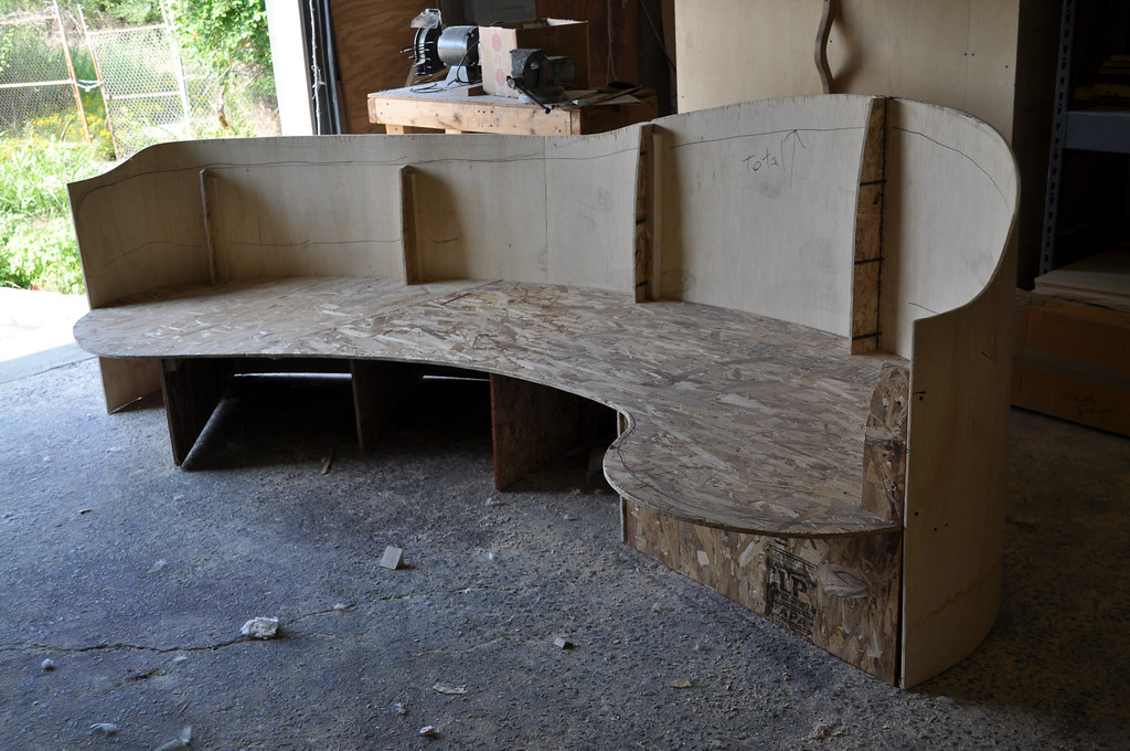 ... Custom Sofa   Mock Up For Curved Sofa   By Design Services Of Charlotte