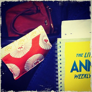 23/366 :: at jury duty:  using my little pen pouch | by salt and chocolate