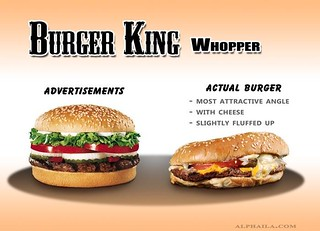 False Advertising Fast Food Examples