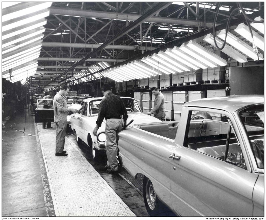 Ford Motor Company Assembly Plant In Milpitas San Jose A