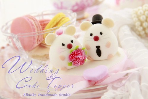 mice wedding cake toppers mouse and mice wedding cake topper www etsy 17333