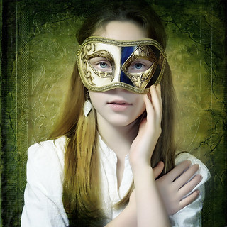 Girl with the Mask | by Arunas S