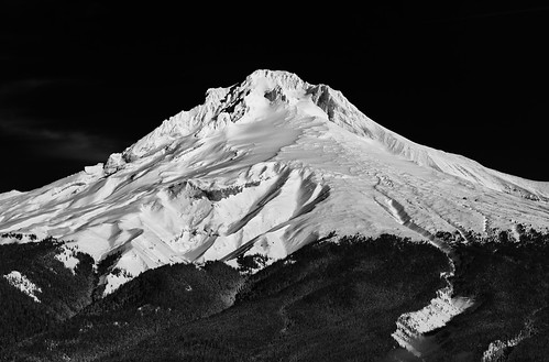 Textures of Mt. Hood | by Scott Withers Photography