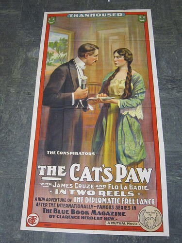 The Cat's Paw poster- version 2 | by craig.fansler