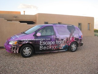 Beckyville Bookmobile in New Mexico | by screenplaygrl