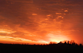 Sunset on January 7th 2012 | by lunarman1959