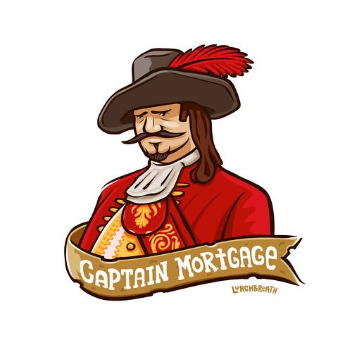Unsuccessful Pirate No.7: Captain Mortgage | by lunchbreath
