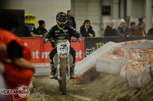 Tom Söderström at the Helsinki SuperCross in February 2012 | by Battery Energy Drink