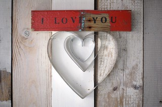 [i love you] | by wood & wool stool