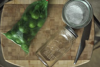 salt preserved key limes | by Marisa | Food in Jars