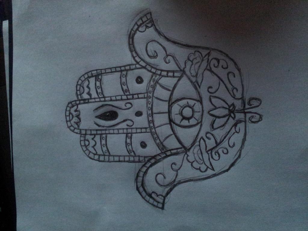 Diseño Mano De Fátima Psicodelicia Tattoo Flickr