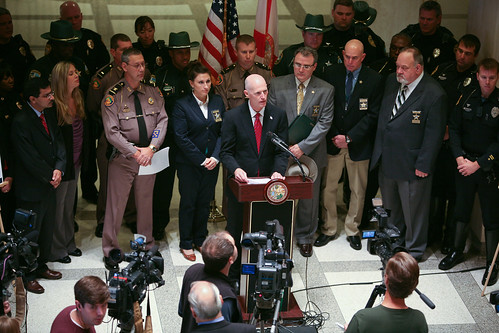 12.2.2011 Governor Scott participates in a Drunk and Drugged Driving Prevention Month Press Conference | by FLGOVSCOTT