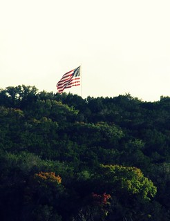 flag on a hill | by yohon's pics