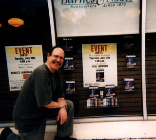 Paul Levinson And Borrowed Tides Display In Barnes Amp Noble