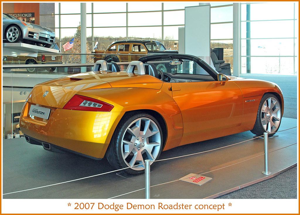 2007 Dodge Demon Concept Visit To The Walter P Chrysler M Flickr