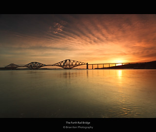 The Forth Rail Bridge Sunrise | by .Brian Kerr Photography.
