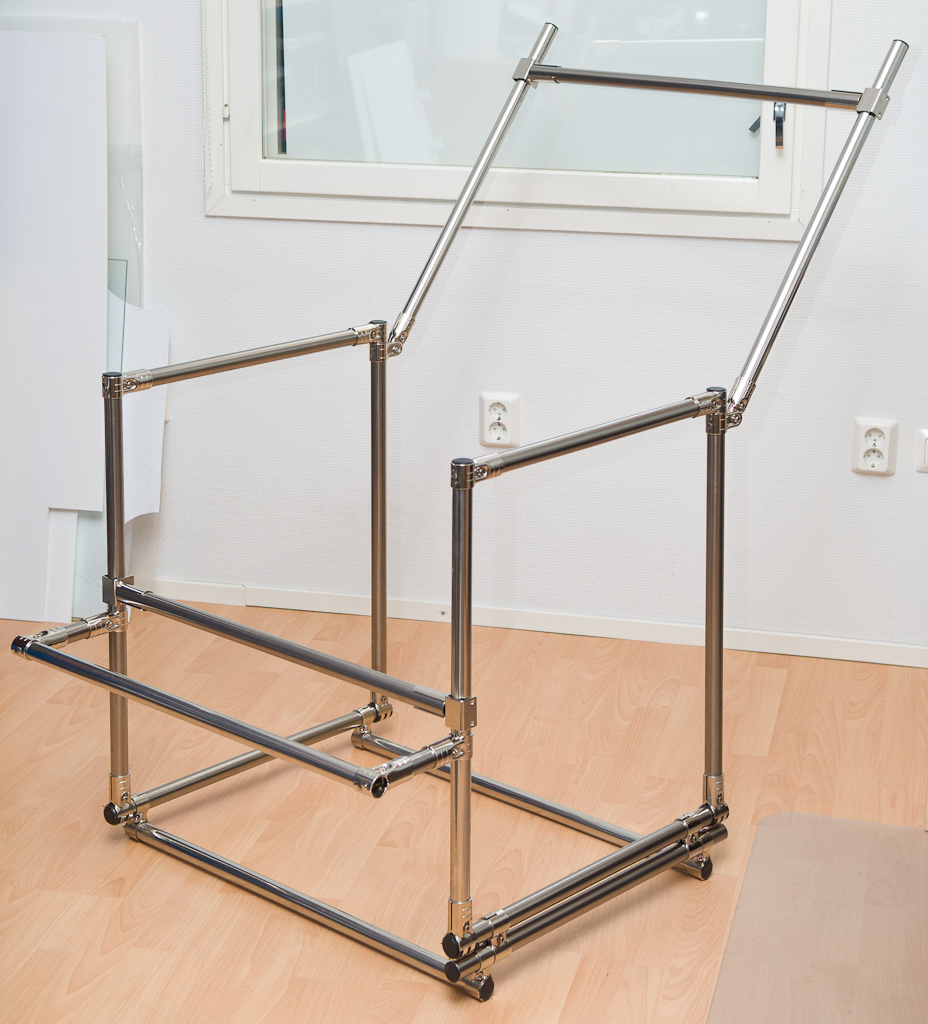 Product Photography Table Diy Tube Frame Also See The Verk Flickr